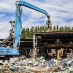 Schrottschäre Schmidt Recycling